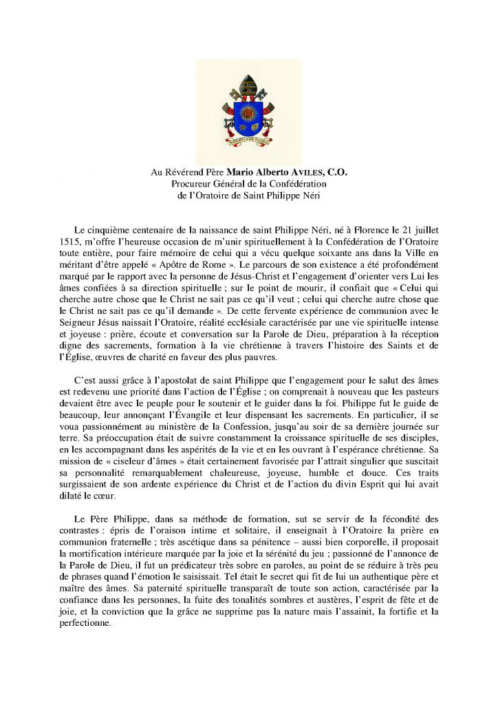 Msg Pape Frçs 26 mai 15-1
